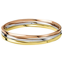 Exclusive Calvin Klein three colour bangle - Product number 9894721
