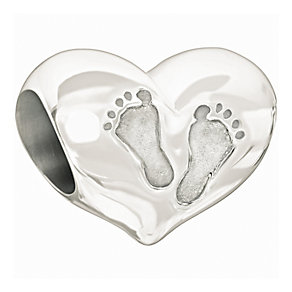 Chamilia Baby's First Step sterling silver bead - Product number 9900144