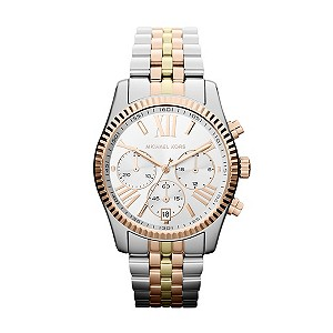 Michael Kors ladies' three colour bracelet watch - Product number 9901213