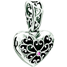 Chamilia In My Heart Pink Swarovski Crystal Bead - Product number 9909494