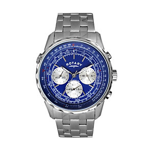 Exclusive Rotary Men's Stainless Steel Bracelet Watch - Product number 9911111