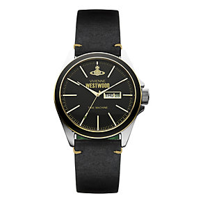 Vivienne Westwood Camden stainless steel black strap watch - Product number 9911693