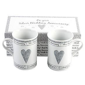 Special Memories 25th Anniversary Mugs - Product number 9937722