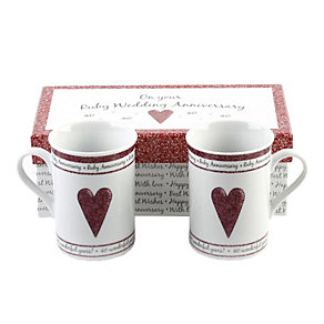 Special Memories 40th Anniversary Mugs - Product number 9937749