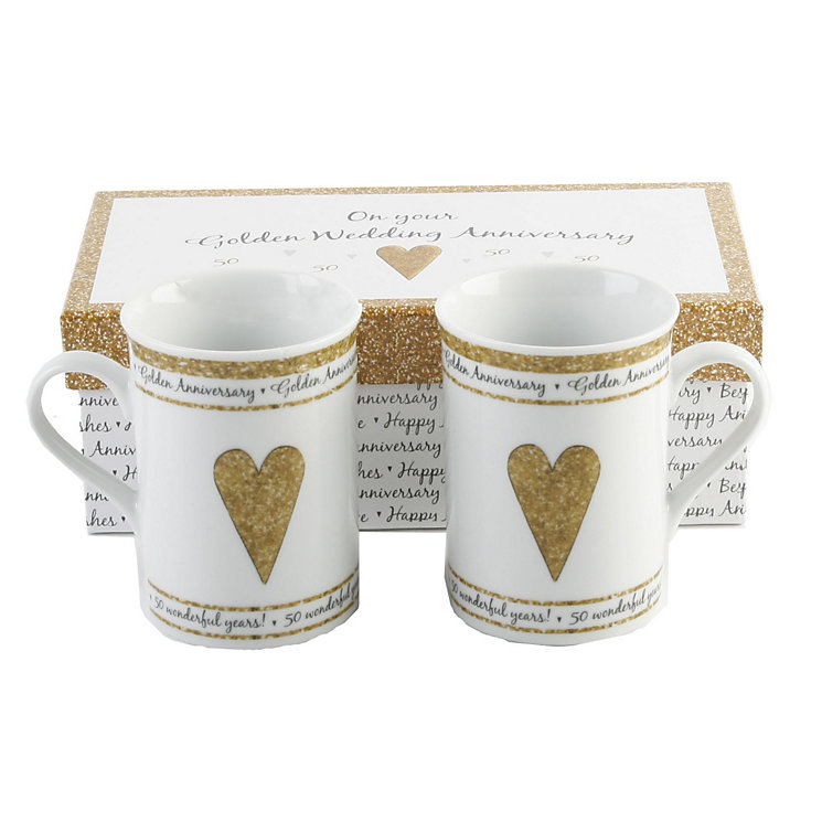 Special Memories 50th Anniversary Mugs - Product number 9937757