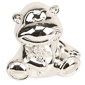Childhood Memories Silver-Plated Monkey Money Box - Product number 9937900
