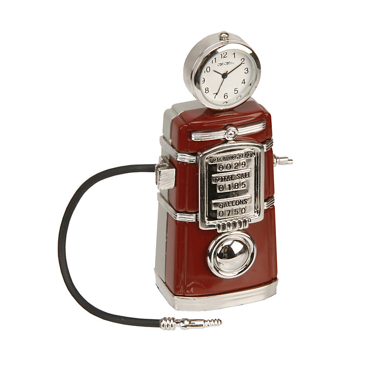 Vintage Petrol Pump Clock - Product number 9938079