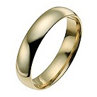 14ct yellow gold 4mm extra heavy court ring - Product number 9940294