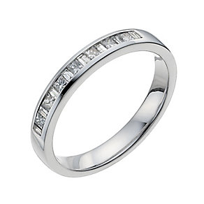 18ct white gold quarter carat eternity ring - Product number 9948619