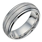 Cobalt 8mm groove band ring - Product number 9950044