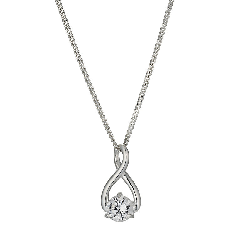 Sterling Silver Figure Of Eight Pendant - Product number 9953558