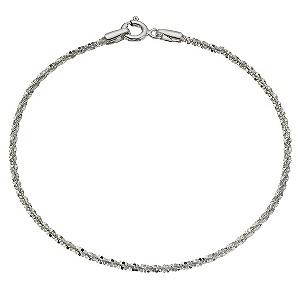 Sterling Silver Sparkle BraceletSterling Silver Sparkle Bracelet