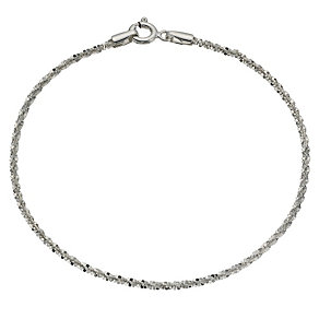 Sterling Silver Sparkle Bracelet - Product number 9959742