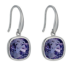 Sterling silver Swarovski crystal earrings - Product number 9967591