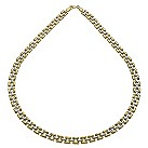 9ct two tone stampata necklace - Product number 9975144