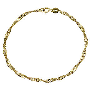 9ct yellow gold bracelet - Product number 9976167