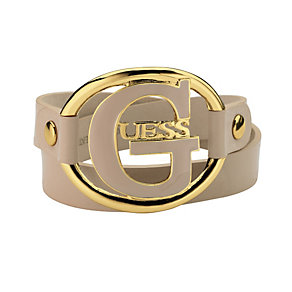 Guess Silver-Plated Leather Bracelet - Product number 9979123