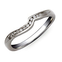 Perfect Fit Silver & Diamond Eternity Ring - Product number 9982213
