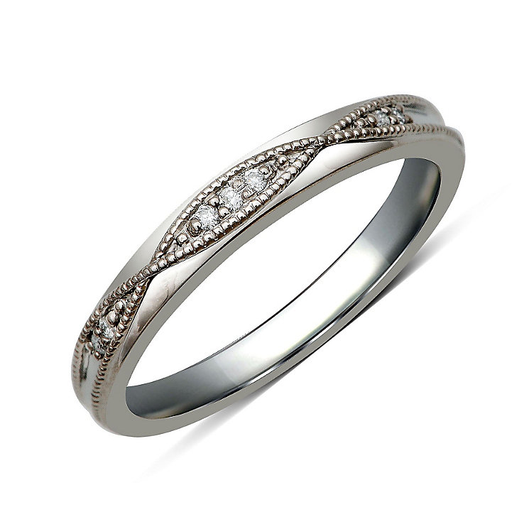 Perfect Fit Palladium & Diamond Eternity Ring - Product number 9982612