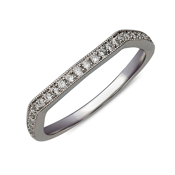 Perfect Fit 18ct White Gold Diamond Eternity Ring - Product number 9983155