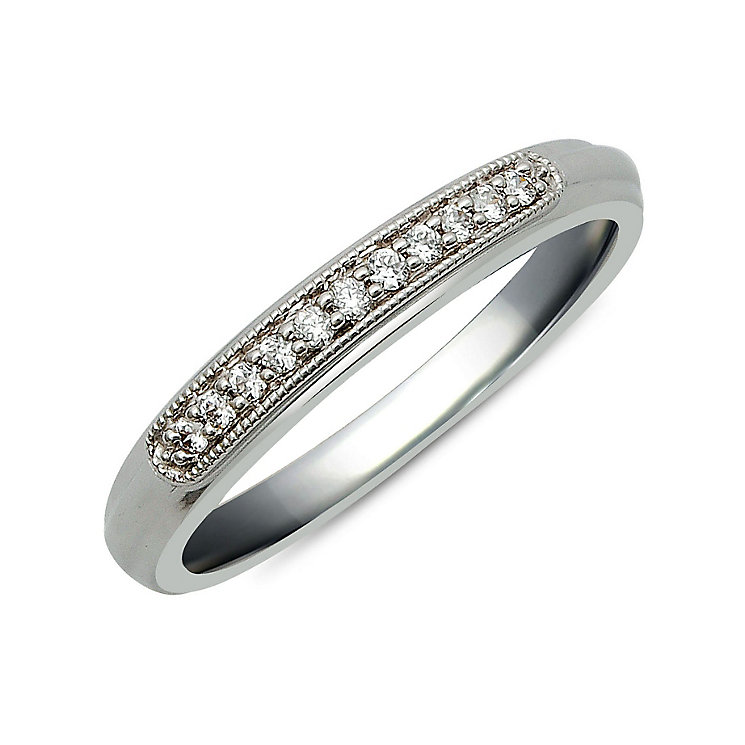 Perfect Fit 9ct White Gold Diamond Eternity Ring - Product number 9983562