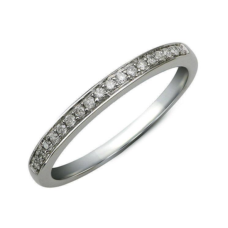 Perfect Fit 9ct White Gold Diamond Eternity Ring - Product number 9984488