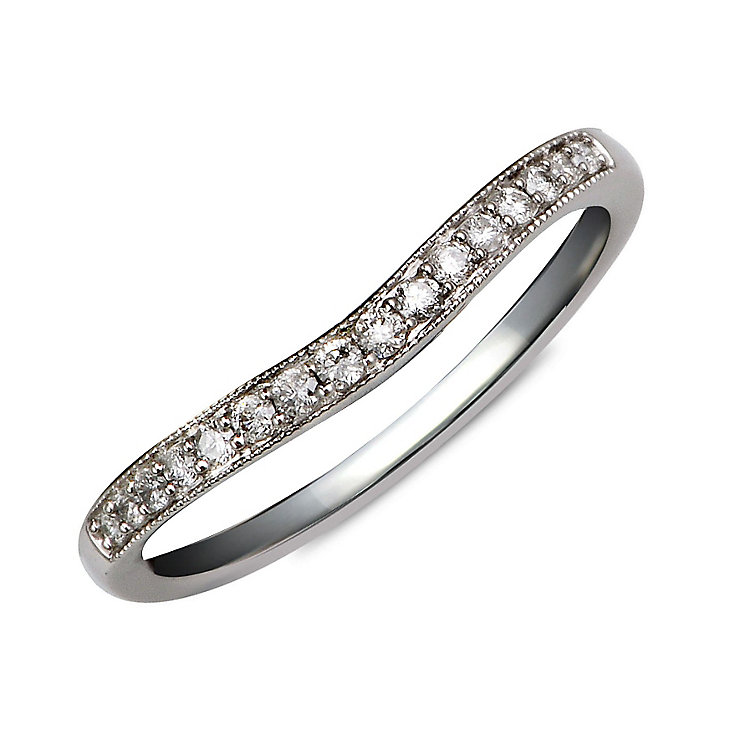 Perfect Fit 9ct White Gold Diamond Eternity Ring - Product number 9985026