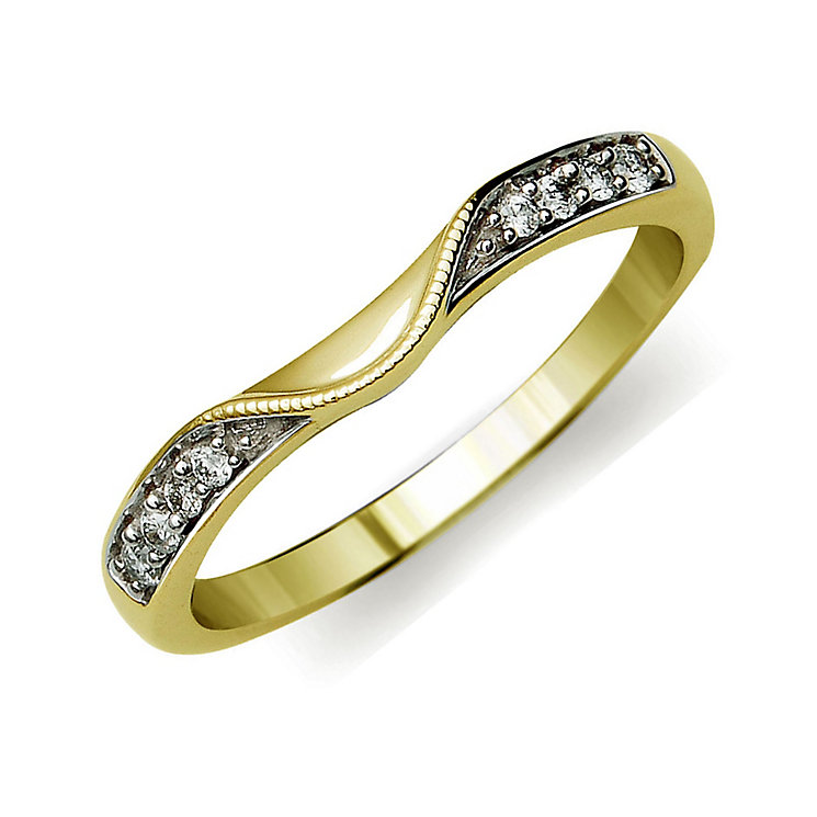 Perfect Fit 9ct Yellow Gold Diamond Eternity Ring - Product number 9985271