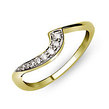 Perfect Fit 9ct Yellow Gold Diamond Eternity Ring - Product number 9985549