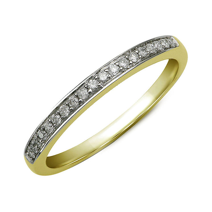 Perfect Fit 9ct Yellow Gold Diamond Eternity Ring - Product number 9985697