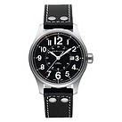 Hamilton Khaki Field Officer black strap watch - Product number 9985832
