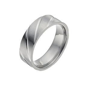Men's Titanium Groove Ring - Product number 9990321