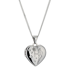 Sterling Silver Diamond Cut Fairy Locket - Product number 9995056