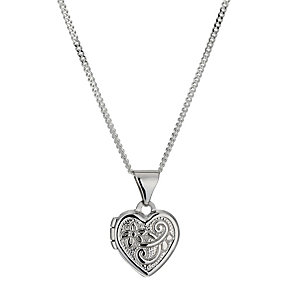 Sterling Silver Heart Locket - Product number 9995110