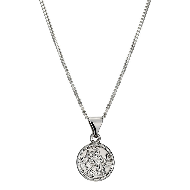 Sterling Silver St Christopher Pendant - Product number 9995129