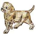 Swarovski Standing Golden retriever - Product number 9995242