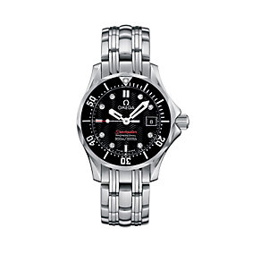 Omega Seamaster ladies' stainless steel bracelet watch - Product number 9995609