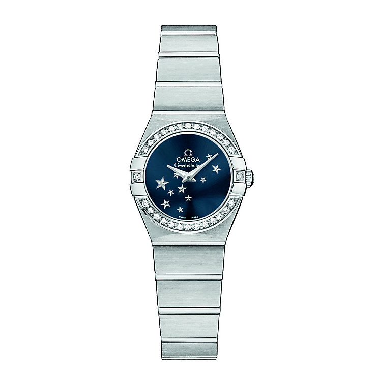 Omega Constellation Quartz ladies' diamond watch - Product number 9995617