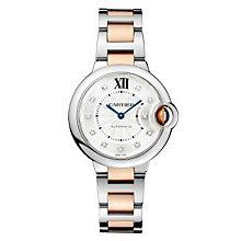 Cartier Ballon Bleu ladies' two colour bracelet watch - Product number 9995773