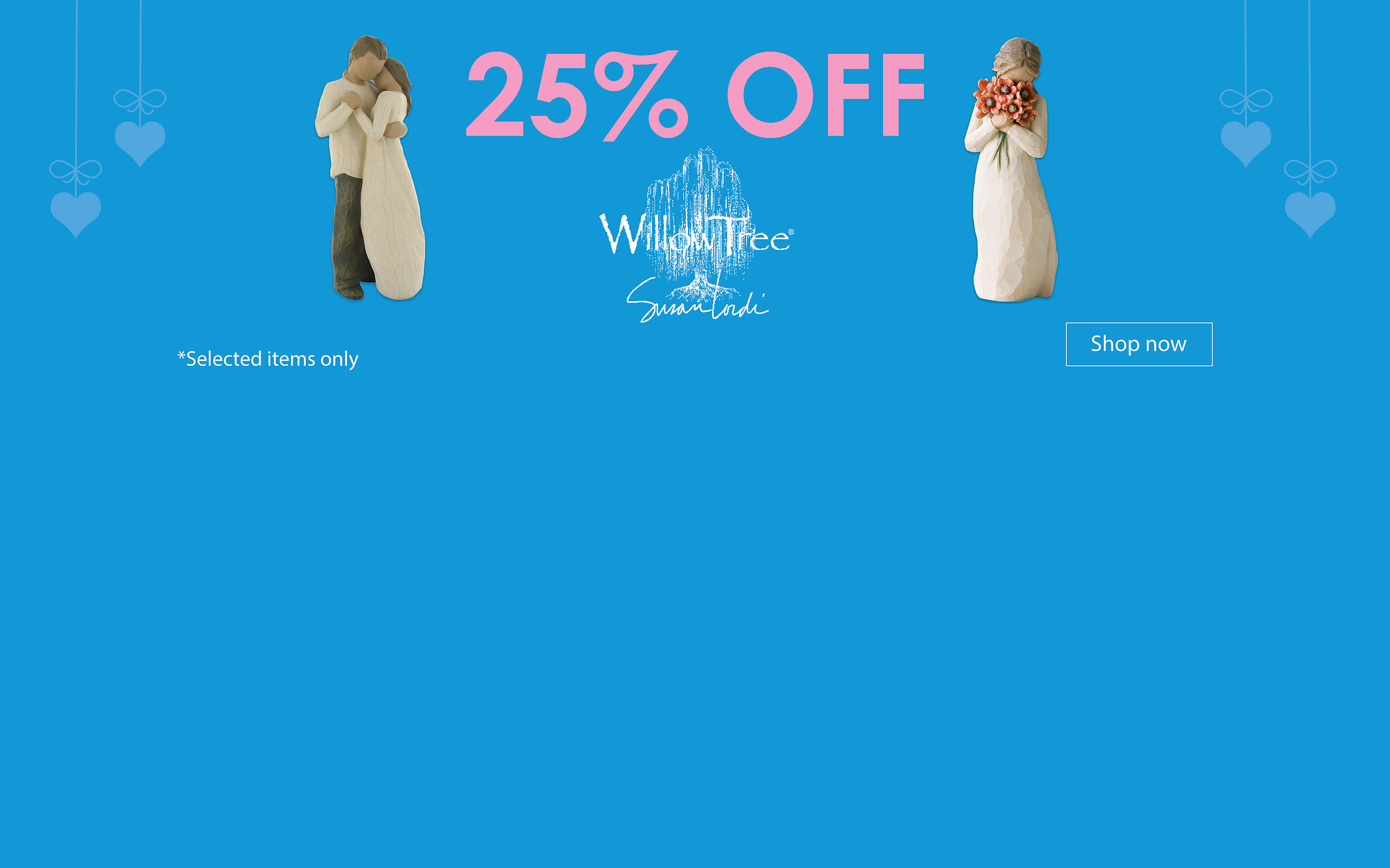 25% off Willow Tree