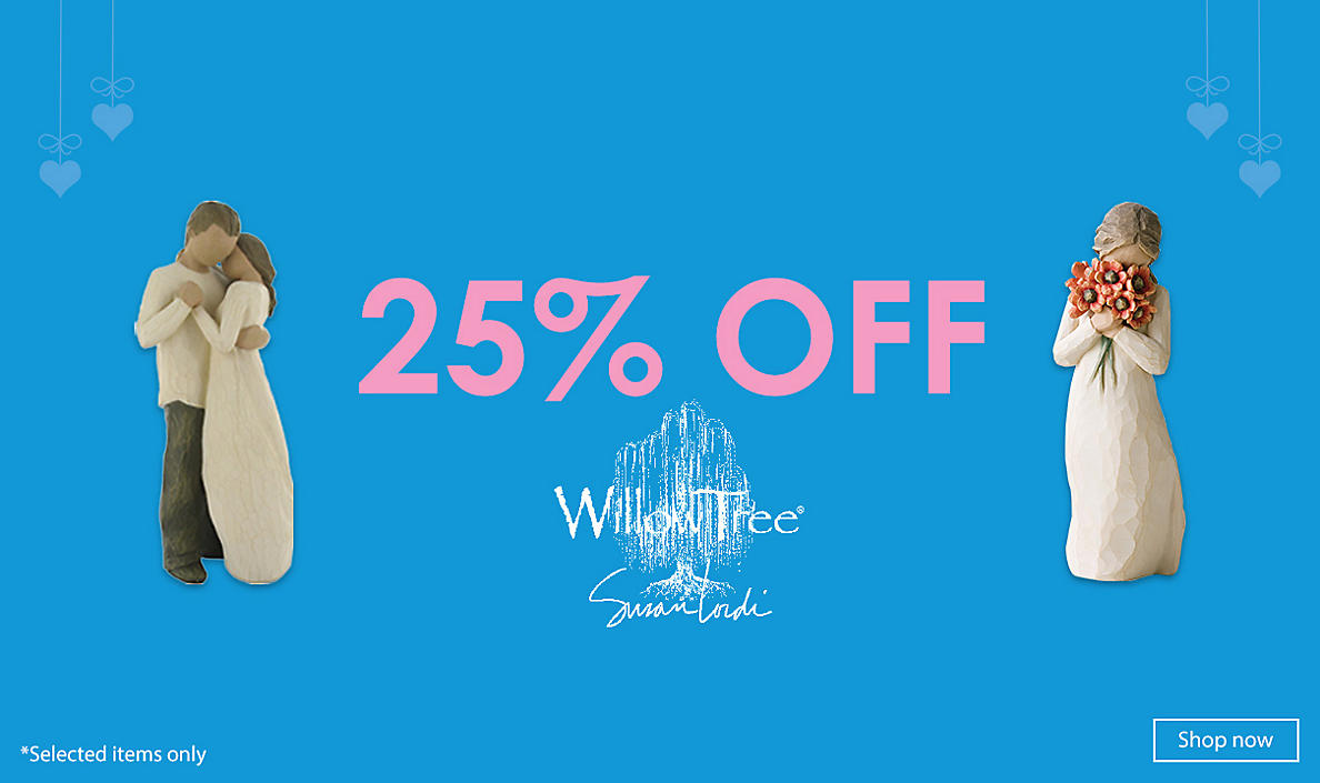 25% Off Willow