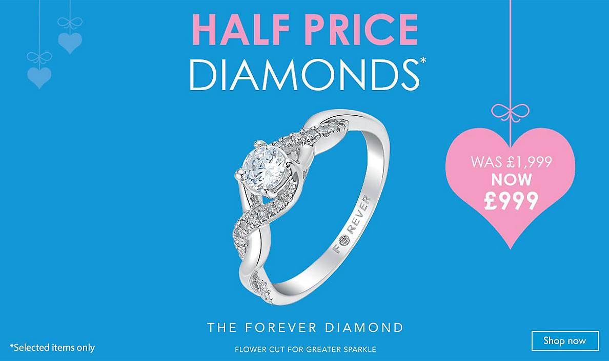 Half Priced Diamonds