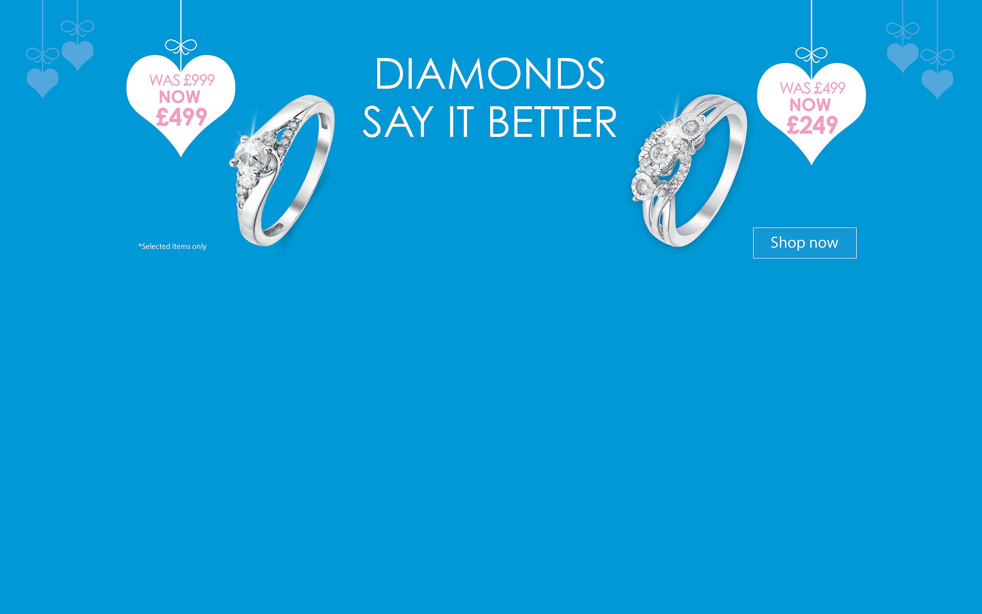 Diamonds say it Better