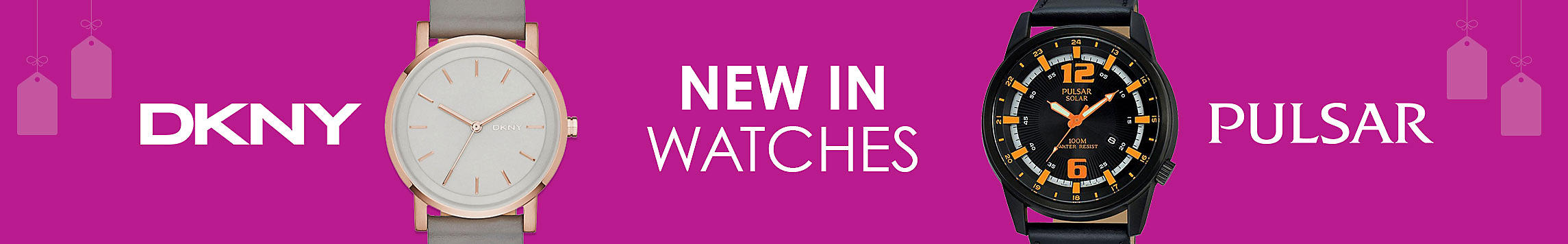 New in Watches