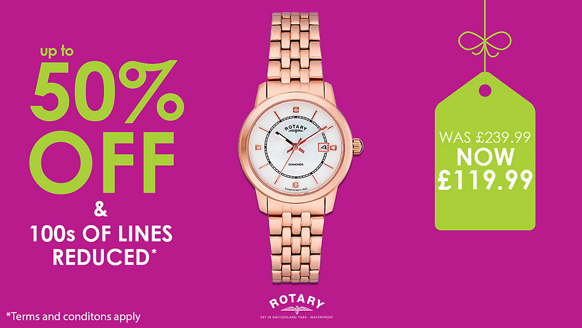 up to 50% Off Women's Watches